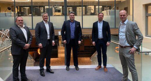 Signing Green - Thormans Entreprenad